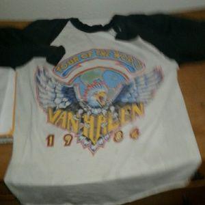 Vintage van Halen shirt ladies